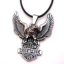 Fashion cross titanium steel gladiator style pendant necklace