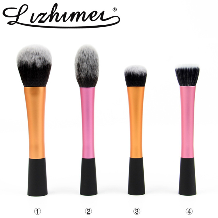 Wholesale rt Single waistline brush aluminum tube synthetic hair protable makeup brushes professional cosmetic facial brush tool<br><br>Aliexpress