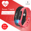 New Touch Screen Smartband Fitness Sleep Tracker Heart Rate Monitor Bluetooth 4 0 Hot Smart Watch