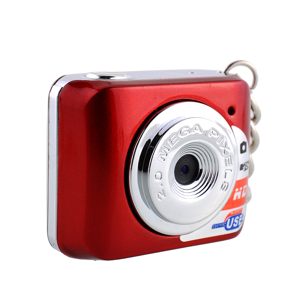 Red NEW Mini Digital Camera Video Camcorder Smallest HD Webcam High Quality Operating System Brand New(China (Mainland))