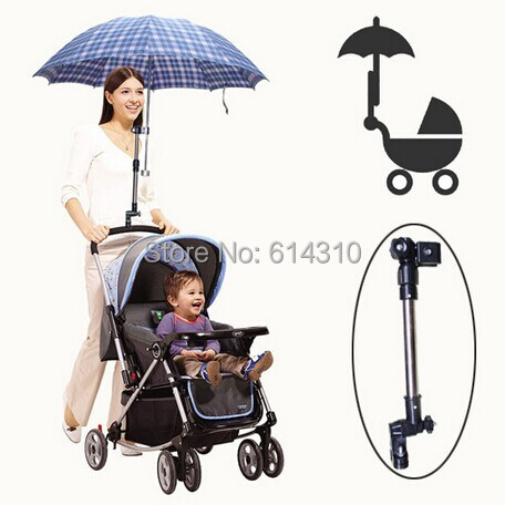 Free shipping Special shade umbrella stroller umbrella holder bracket pushing a child is no longer afraid of the sun(China (Mainland))