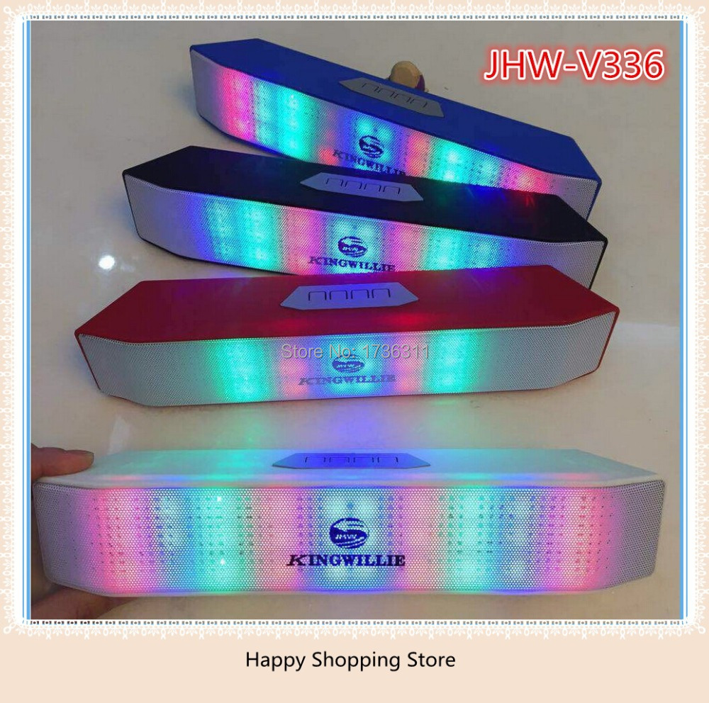 2015 Newest Pulse Wireless Bluetooth Portable HiFi Speakers Built-in Led Light Show Amplifier With FM & TF Card Amplificador(China (Mainland))