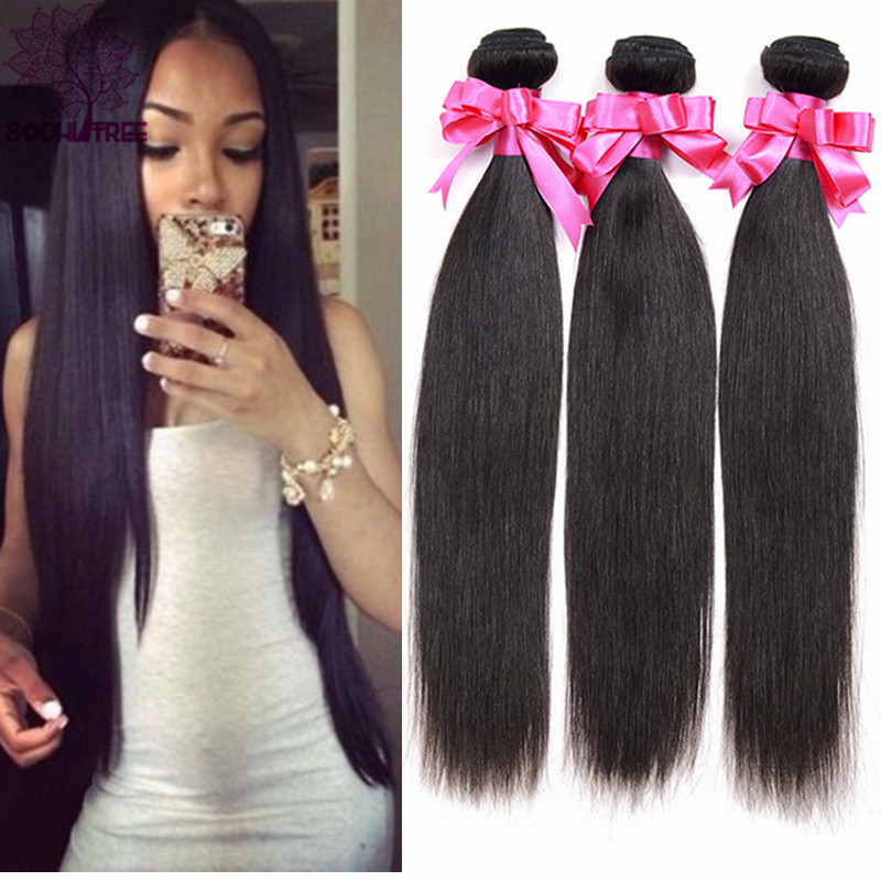 Rosa Hair Product Indian Virgin Hair Straight 3 Bundles Cheap Straight Human Hair Indian Straight Virgin Hair Aliexpress India(China (Mainland))