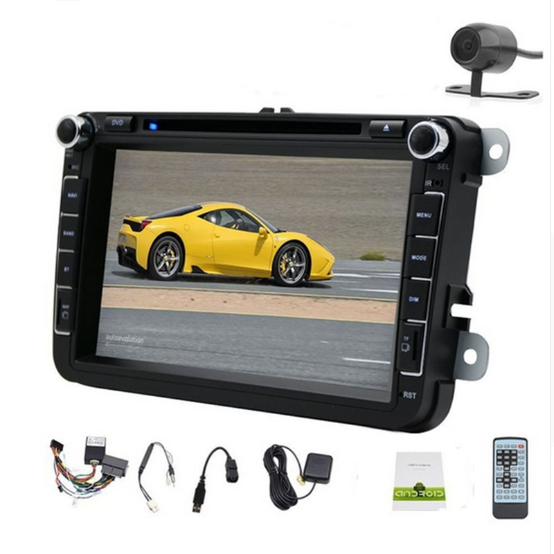 double din 8 inch Android Car DVD Radio Stereo GPS Navi Cortex A9 VW PASSAT TIGUAN GOLF Polo Jetta MAGOTAN BORA CADDY TOURAN()