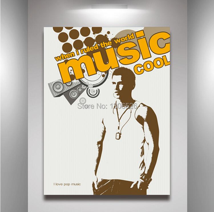 Buy Modern Home Decor Catch Dream Music Poster For Kids Room Wall Art Decor