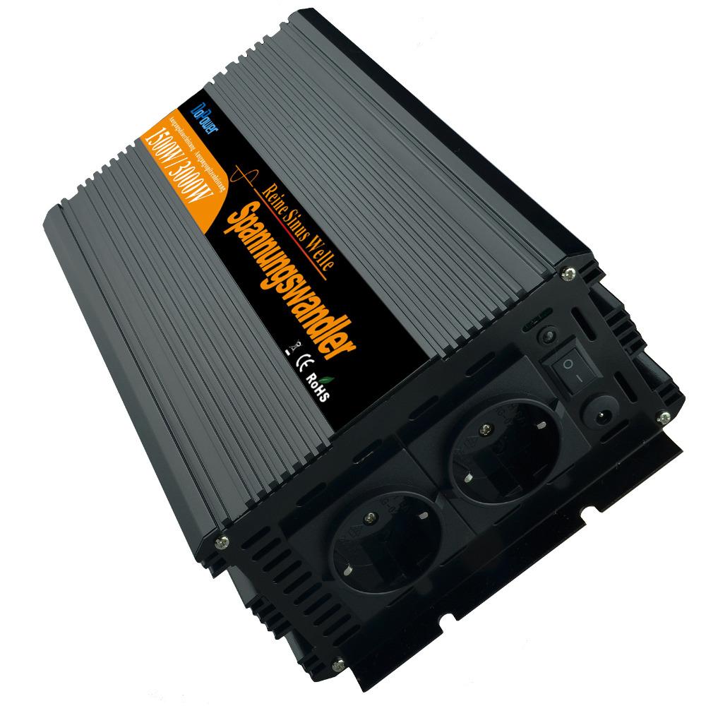 DoPower inverter 1500W pure sine wave DC 12V to AC 220V(China (Mainland))