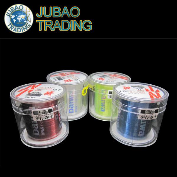Free Shipping Transparent/ Yellow/ Blue/Red 500m #2 Monofilament Fishing Line 100% Nylon Fishing Line For Carp Fishing(China (Mainland))