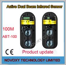 Бесплатная доставка фотоэлектрические двухлучевой периметр забор активный ик-зонд ик-барьер детектор окном охранной сигнализации