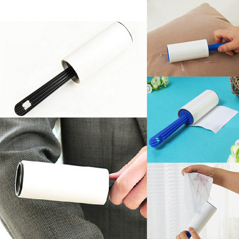 High Quality R4-2-3 Creative Home Clothes Hair Dust Removal Lint Rollers Remover Sticky Paper Roller Sticky Hair Device LS269(China (Mainland))