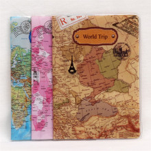 Buy 2017 New Fashion World Map Pattern Passport Holder PVC Leather ID Credit Card Casual Passport Cover Travel Document Passport Bag for $1.99 in AliExpress store