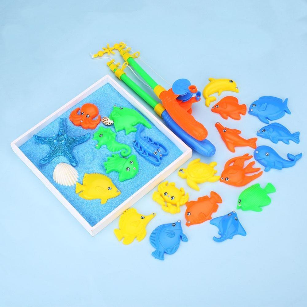 Рыбки на магнитах с удочкой для детей