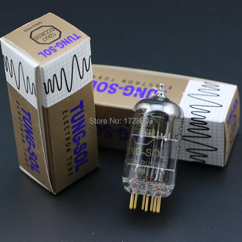 Free shipping 1pcs Russia vacuum tubes Tissot TUNG-SOL 12AX7 ECC803S от Aliexpress INT