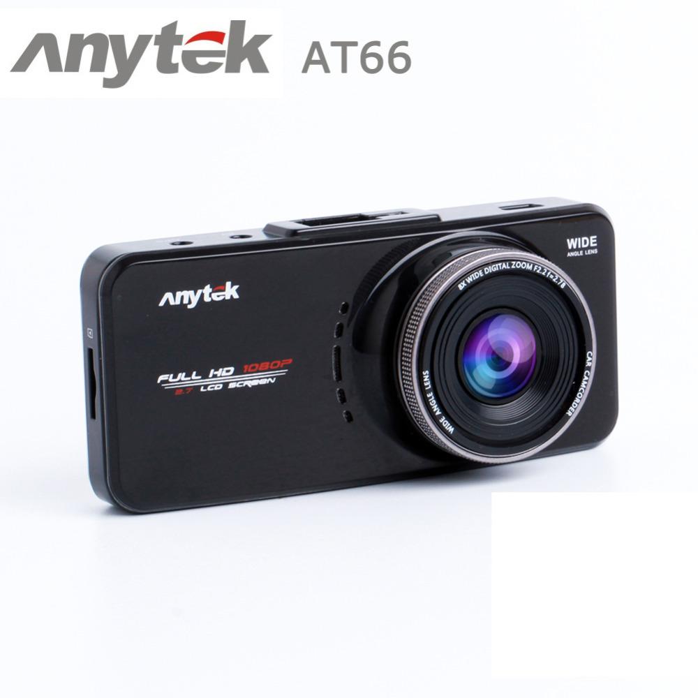 Автомобильный видеорегистратор Anytek  AT66 Anytek DVR 2.7 HD WDR G 6Ga автомобильный видеорегистратор anytek at66a 2 7 hd g wdr gps novatek96650 dashcam dvr gps