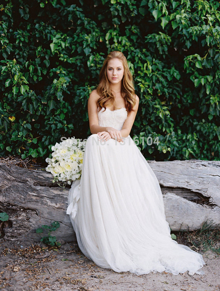 Compare prices on flowy beach wedding dresses online for Buy beach wedding dress