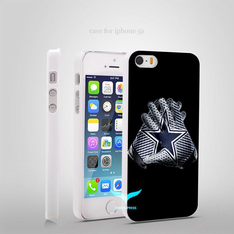 NFL Cowboys Vapor Jet 2 Glove original Style Hard Skin Plastic White Case Cover for iPhone 4/4s 5/5s 5c 6/6 Plus(China (Mainland))
