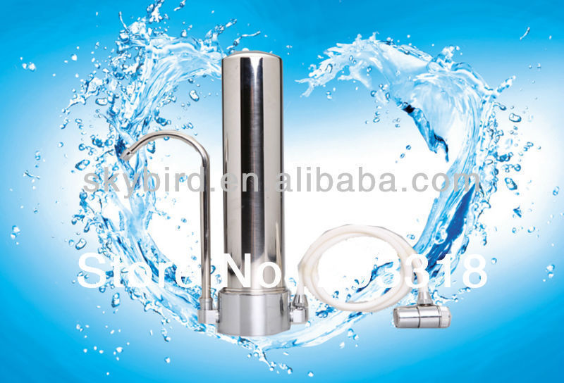 Stainless steel Central household water cleaner for water tap / uf membrane water filter ,600L/Hour(China (Mainland))