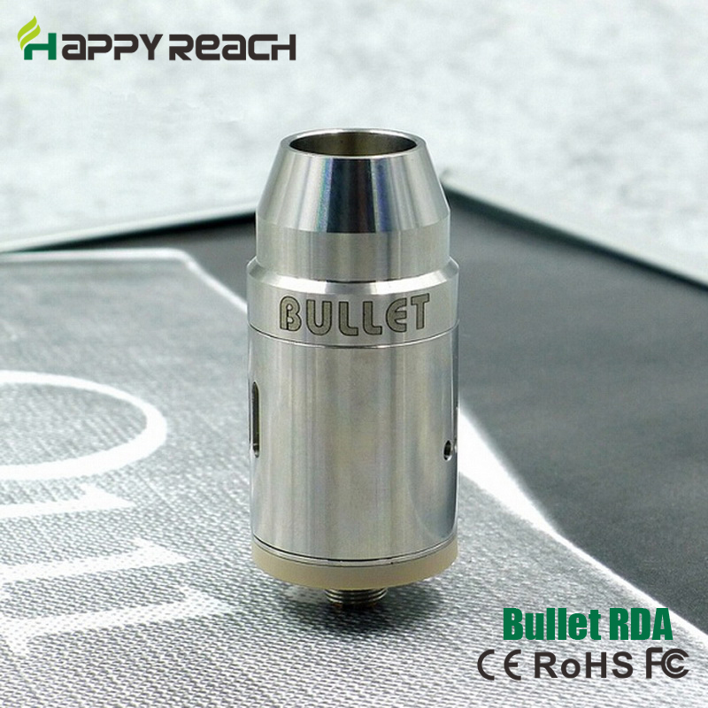 10pcs Bullet rda atomizer clone new e cig products Bullet atomizer vs mad hatter freakshow rda rba fit 510 box mods(China (Mainland))