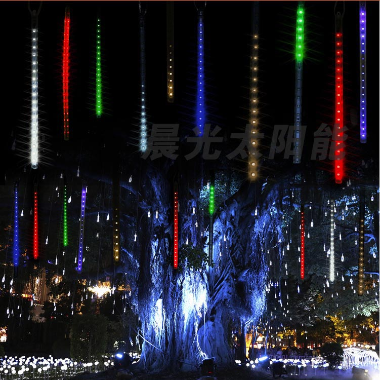 Can waterproof outdoor landscape lighting hanging tree decoration light string lights D sided ...