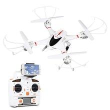 MJX X400C Wifi 3D Flip 4CH 2.4GHz 6-Axis Gyro RC Drone Headless Mode One Key Return Quadcopter 0.3MP Camera for IOS Andriod
