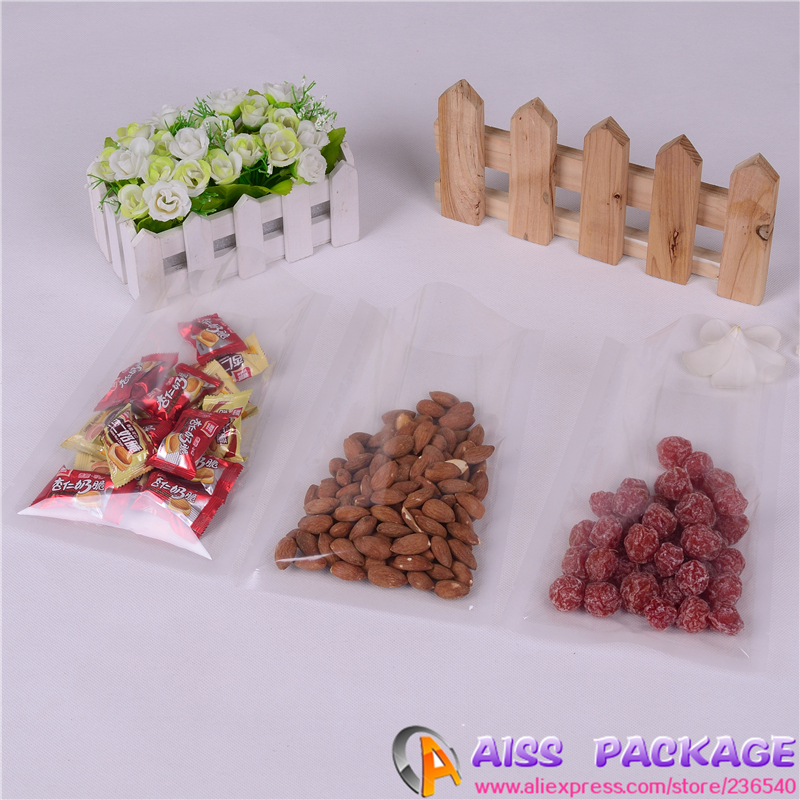 AISS-vacuum seal bags,food bags,25x36cm,flat bag,clear plastic /fruit bags,meat packing(China (Mainland))