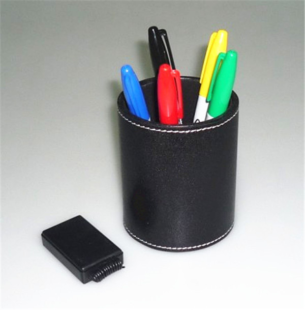 Color Pen Prediction - Leather Pen Holder, cool item hi-tech electronic device Mentalism Magic Tricks New Arrival(China (Mainland))