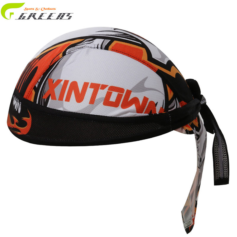 Flame Quick Dry Cycling Cap Fashion Men Headband Pirate Bandana For Outdoor Sports Unisex Breathable Riding Equipment Hat Cool(China (Mainland))