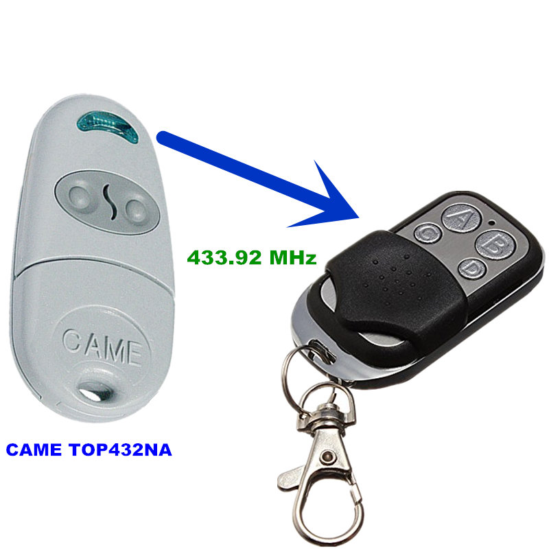 433 Copy CAME TOP432NA Duplicator 433.92 mhz remote control Universal Garage Door Gate Fob Remote Cloning 433mhz Transmitter(China (Mainland))
