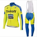 NEW 2017 Jersey Sets Long Sleeve clothing ropa ciclismo hombre cycling jersey long bicicleta pro team