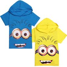 DMDM PIG Short Sleeve T-Shirts despicable me 2 minion boys t shirt for girls nova T-Shirt children's Clothing kids Clothes