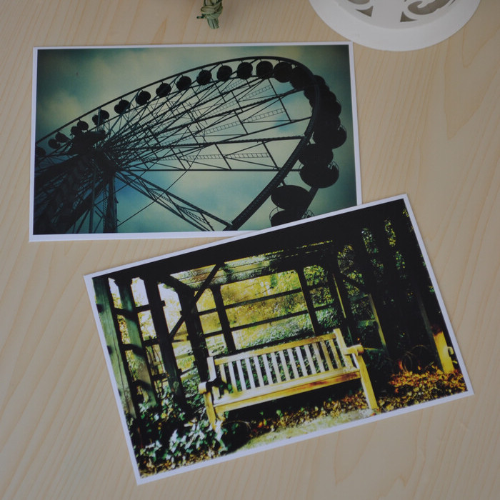 Packed postcard camera love card papers in the second quarter collection 3d art lenticular recycled recordable 10.2*14.2cm 30pcs(China (Mainland))