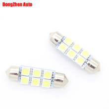 Buy 1X 24V Auto Automobile 6 LED 5050 41mm Cargo Dome Festoon Reading Light Xenon Bulb Car Truck C5W C10W Licence Plate Light DRL for $1.21 in AliExpress store