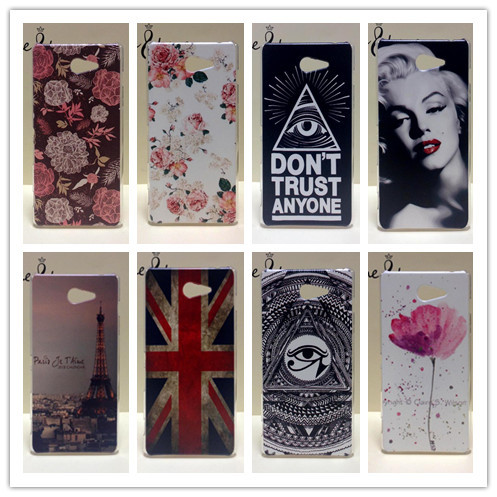 2016 Hot Sell Painting Hard Cover Case For Sony Xperia M2 S50h Dual D2302 M2 D2305 PC Plastic Phone Case(China (Mainland))