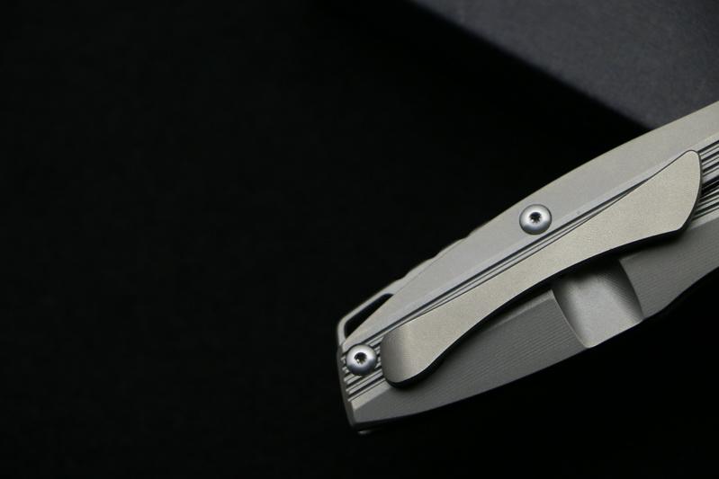Buy bama Original Custom top quality rocket Flipper folding knife D2 blade TC4 Titanium camping hunting pocket fruit knives EDC tool cheap