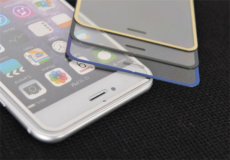 best Clear font b Screen b font font b Protector b font For iPhone 6 Tempered