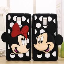 3D Mickey Minnie Lover Phone Case Soft Silicon Cover Samsung Galaxy S4 S5 S6 Edge S7 2016 A3 A310 A5 A510 A7 A710 - Fashion Accessories Co. Ltd store