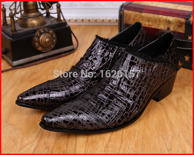 Здесь можно купить  New Arrival Italian Men Shoes Men Oxford Shoes Embossed Leather Brown Men Formal Classic Shoes Sapato Masculino Couro Social 46 New Arrival Italian Men Shoes Men Oxford Shoes Embossed Leather Brown Men Formal Classic Shoes Sapato Masculino Couro Social 46 Обувь