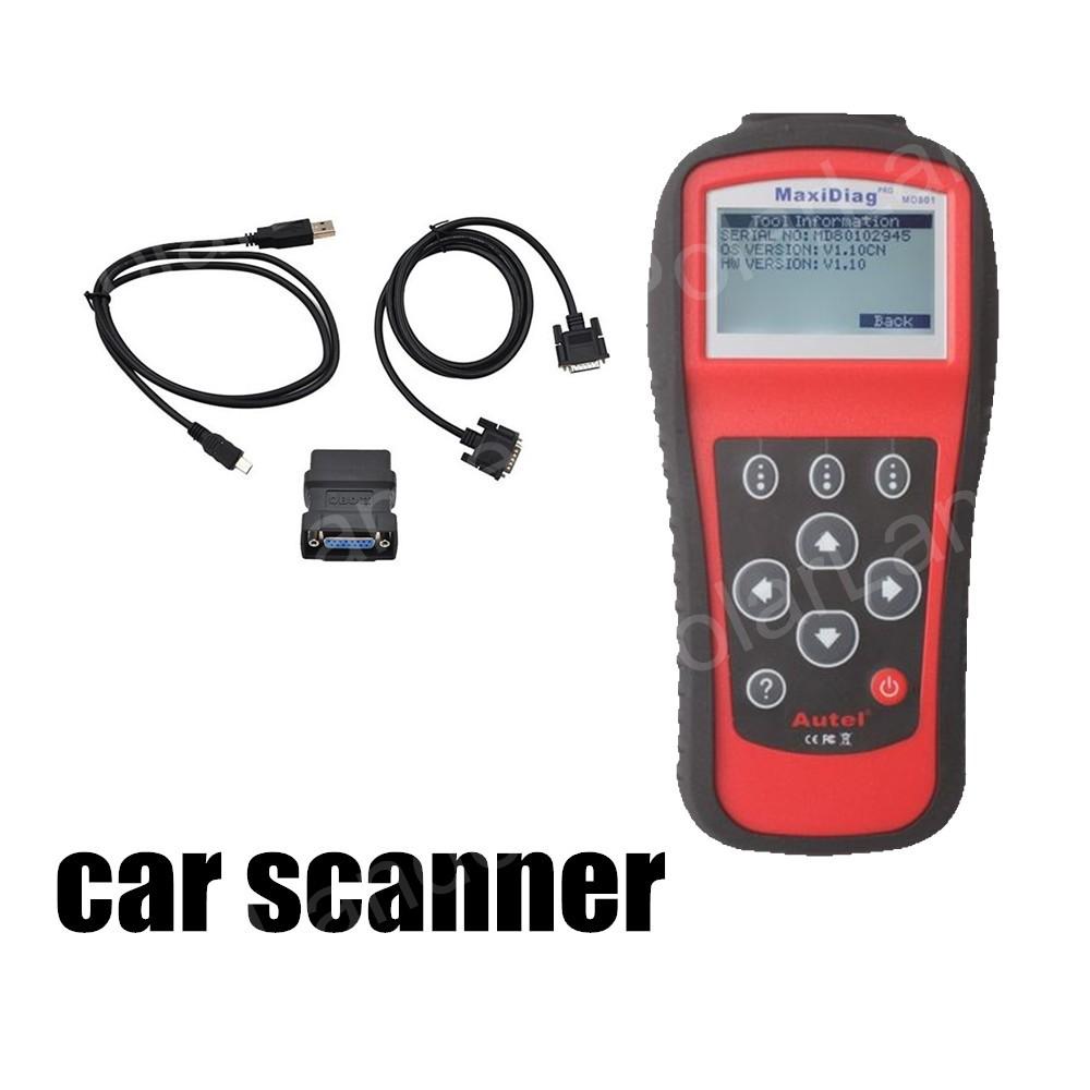 Autel MaxiDiagPRO MD801 (JP701 + EU702 + US703 + FR704) Engine Code Reader Scanner Auto Car Diagnostic Scan Tool OBDII(China (Mainland))