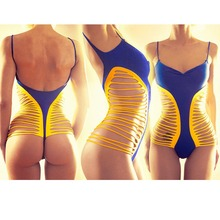 2016 VENUS VACATION New fashion one piece swimsuit high cut women sexi bathing suit