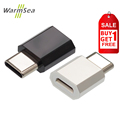 WarmSea Micro USB to USB Type C 3 1 OTG Adapter Type C Converter for Xiaomi