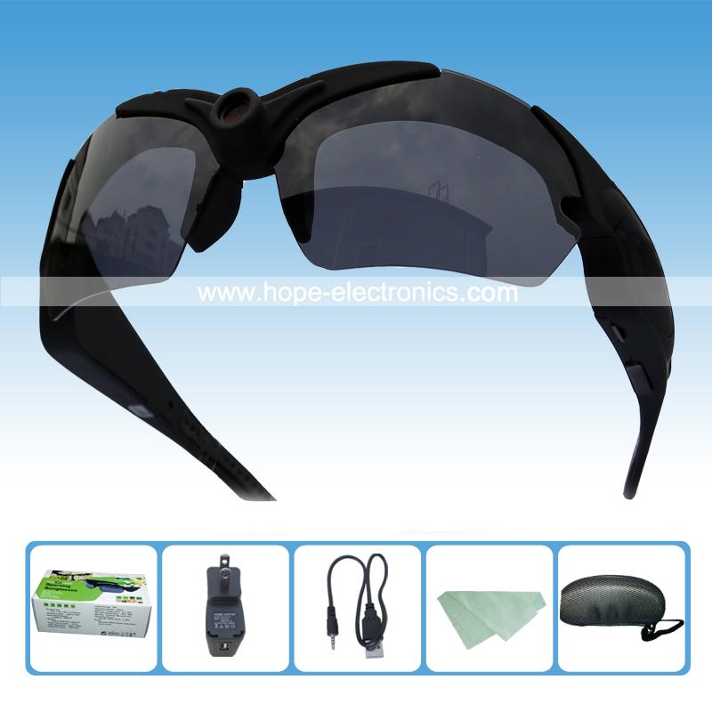 2015 new 1080P mini video sunglasses cam HD sport camera glasses DVR(China (Mainland))