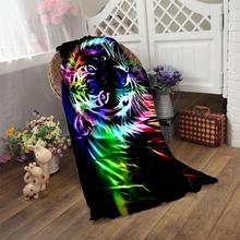 Neon tiger outline Bath Towel 50*100cm,70*140cm,70*150cm,80*160cm towel for kids adults shower swimming Home Textile