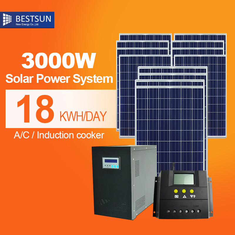 BFS-3000W-H Bestsun solar power home system 3000watt low configuration energia solar battery in china Mount Kit for Caravan(China (Mainland))