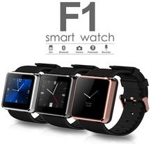 F1 водонепроницаемый смарт-часы SmartwathSync вызова фитнес SMS Facebook шагомер сна монитор камеры анти-потерянный смартфон