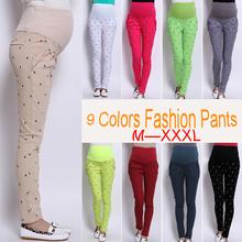 3xl Maternity Clothes for Pregnant Women Plus Size Pants for Pregnant Women 9clors Casual Cotton Long Pants Maternity Clothes
