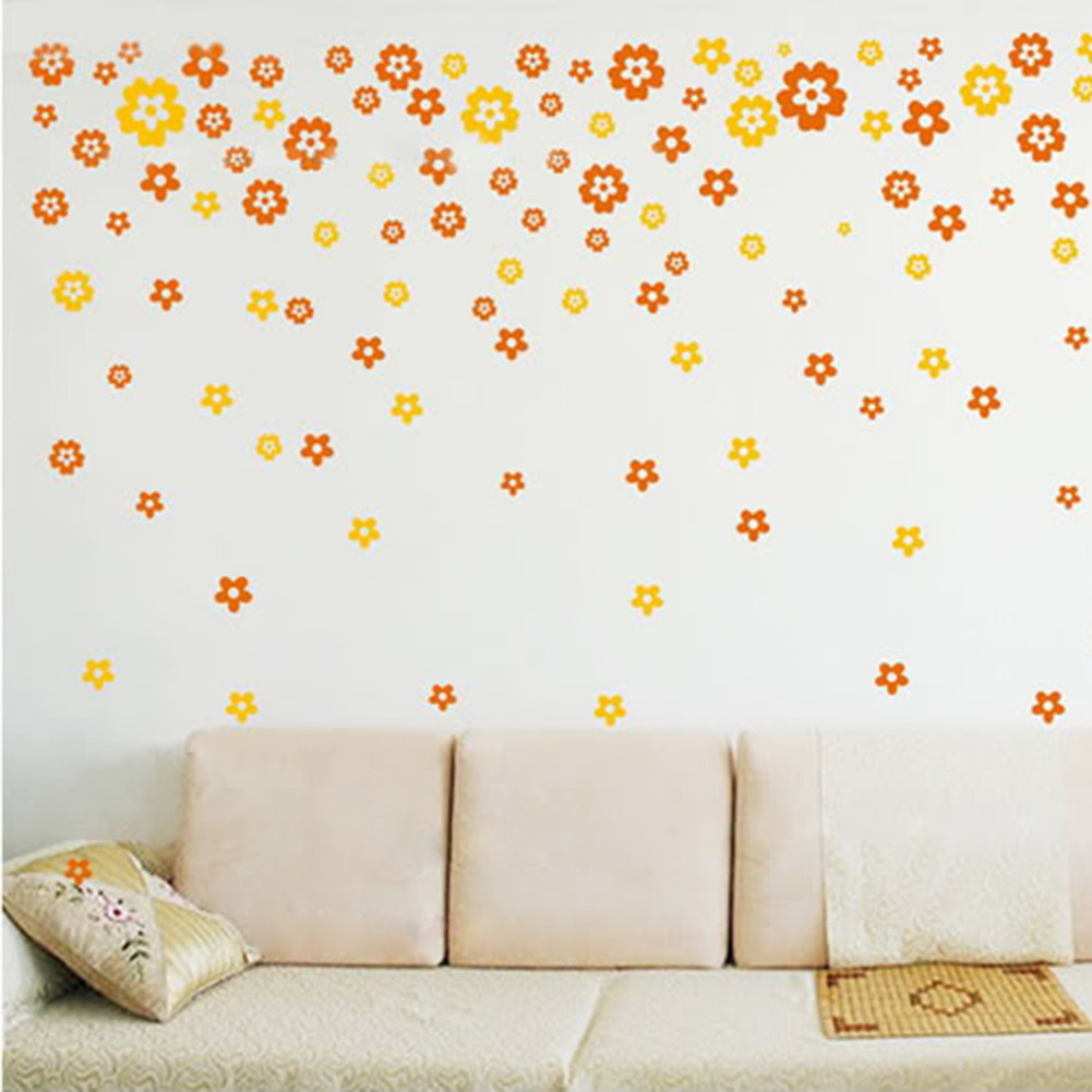 Wall Sticker Butterfly Flowers Decal Arts Decor Home Creative DIY - Ali Online Store store
