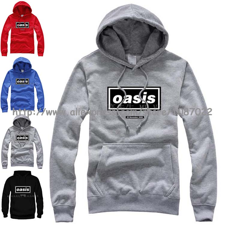 20 November Oasis ALBUMN COVER LOGO Definitely Maybe Be Here Now What's the Story Morning Glory basketball man sports hoodies(China (Mainland))