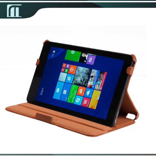 2 Different Stand Degree PU Leather Case for Dell Venue 8 Pro Cover for Tablet Dell Venue 8 Pro Case Free Shipping(China (Mainland))