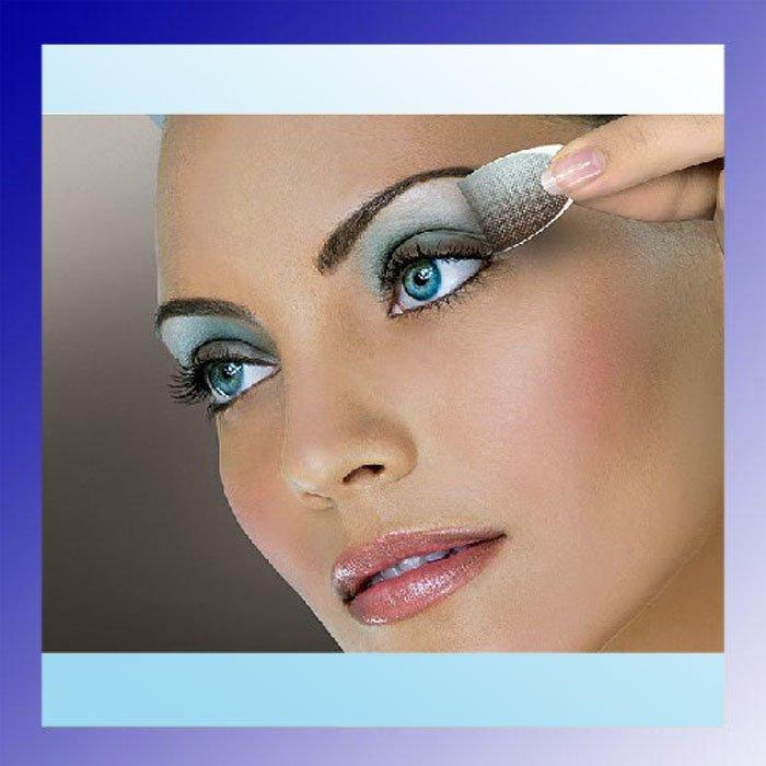 25 colors choosen 6pairs/lot Eyeshadow Magic Eyes Sticker Tattoos Eye Shadow shadows palette - SAILING Online Store_Focus On Health store