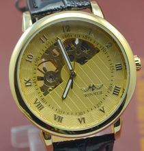 Ganador Fanghaped personalizada para hombre recorte mens relojes mecánicos totalmente automáticos ver j211 comercial