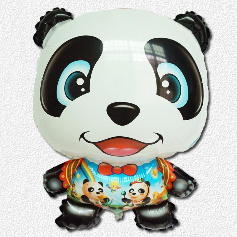 1pc Kung Fu Panda helium Balloons cartoon animals ballon aluminum ball for kids party decorations